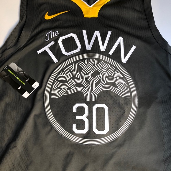 Nike Steph Curry Statement Edition The Town Jersey